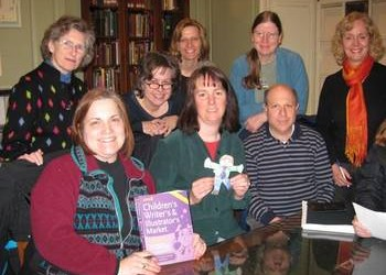 Flat Stanley visits the Concord, MA critique group